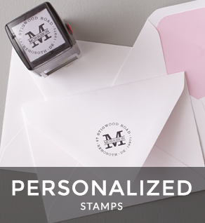 Shop Personalized Stamps